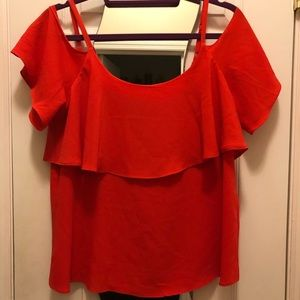 Bobeau off the shoulder top Size M